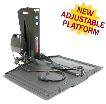 Pride Backpacker AVP Lifts and Ramps