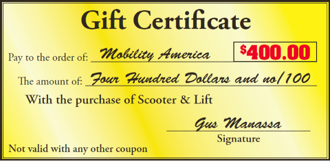 mobility america coupon