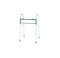 Merits Bariatric Aluminum Folding Walker, Two Button