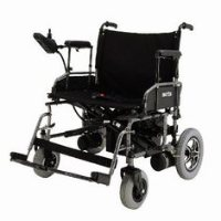 Merits Heavy-Duty Folding Power Wheelchair