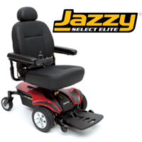 Pride Jazzy Select Elite power chair