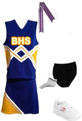 TOTAL CHEER UNIFORM PACKAGES