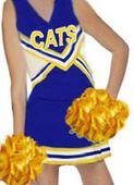 CHEER UNIFORM PLEATED SKIRT