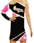 1 SHOULDER CHEER UNIFORM