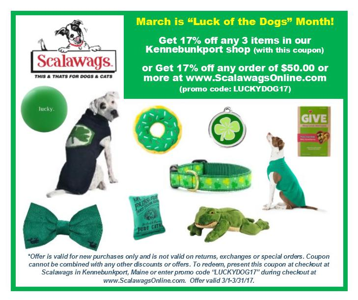 Scalawags This & Thats for Dogs & Cats in Kennebunkport Maine