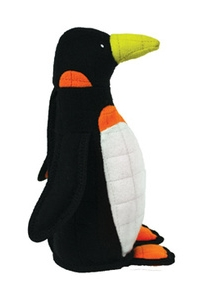 Tuffy Penguin Dog Toy