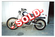 1981 Husqvarna WR430 For Sale - SOLD -