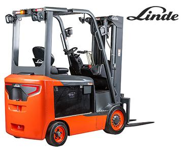 Linde 1347 Electric Forklift