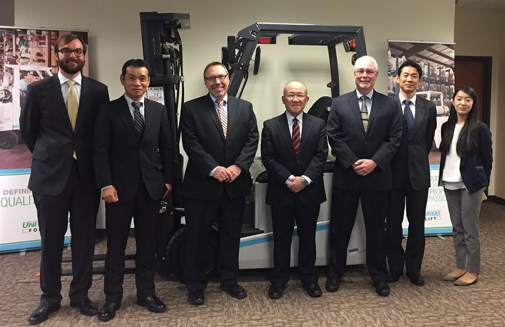 AM DavisLift Hosts Mitsubishi Guests
