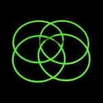 Glow Necklaces Green Tube of 50