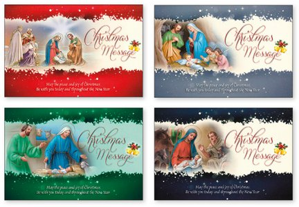 Message Christmas Cards.