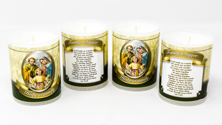 Holy Family Votive Candle's.