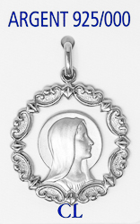 Our Lady of Lourdes Pendant.