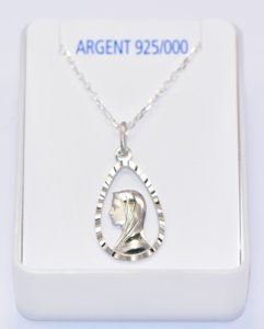 925 Sterling Silver Necklace.