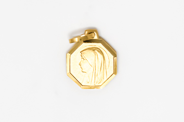 Virgin Mary Gold Medal.