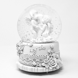 illuminate Angel Musical Snow Globe.