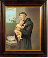 Saint Anthony Framed Picture.