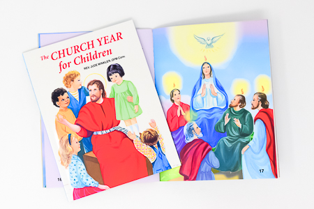 The Church Year for Children Book.