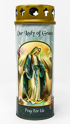Our Lady of Grace Candle.