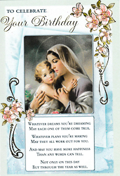 Card A Birthday Prayer For You.