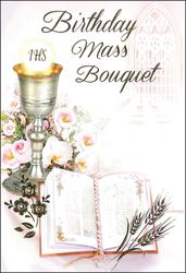 Card - Birthday Mass Bouquet.