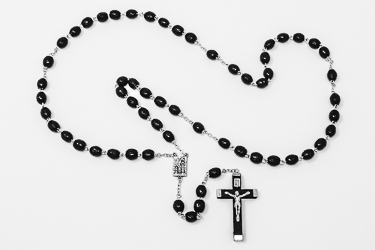 Hand Carved Wooden Rosary beads