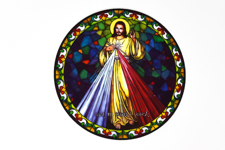 Divine Mercy Window Sticker