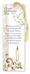 Bookmark with Confirmation Prayer.
