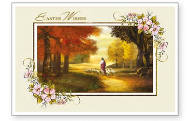 Easter Wishes Card.