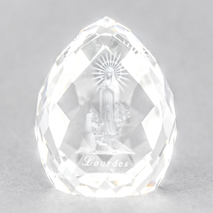 Apparitions Crystal Paperweight.