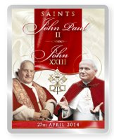 Fridge Magnet Pope John XXIII & John Paul II.