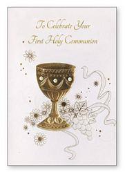 First Holy Communion Card.