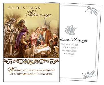 Best Wishes Christmas Card.
