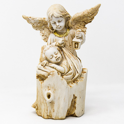 Guardian Angel Statue.