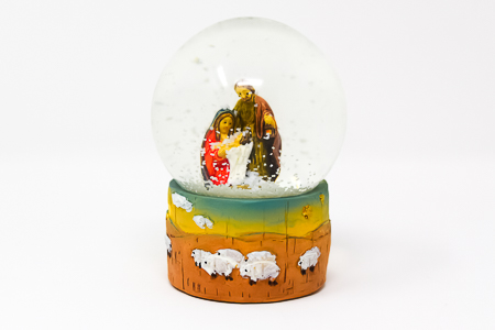 Snow Globe With Angels.