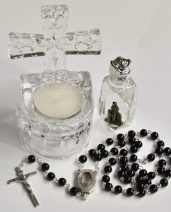 Holy Water Font Gift Set.