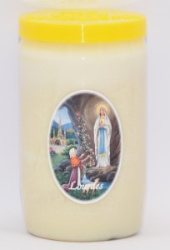 Vigil Candle for 6 Days & 6 Nights.