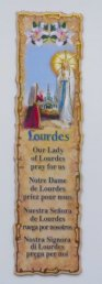 Book Mark Depicting the Apparitions.