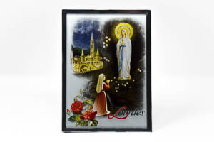Our Lady of Lourdes Ornament