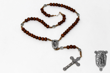 Rosary Beads Dedicated to Bernadette.