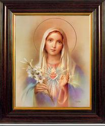 Immaculate Heart of Mary Picture.