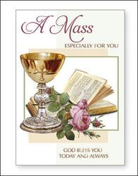 Mass Card Especially For You.