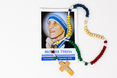 Missionary Rosary Beads St Teresa.