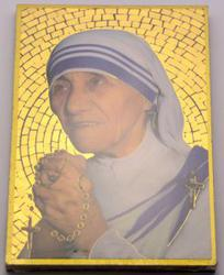 Mosaic Wall Plaque Mother Teresa.