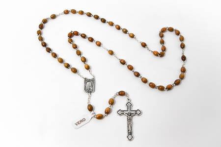 Olive Rosary Beads.