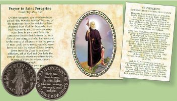 Pocket Token - Saint Peregrine.