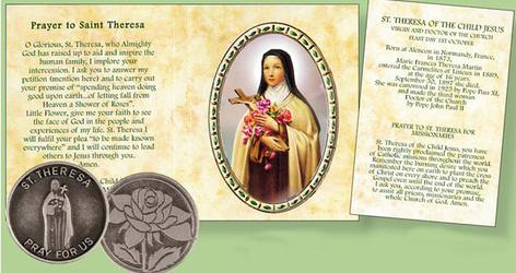Saint Theresa Pocket Token