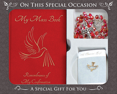 Souvenir Confirmation Gift Set.