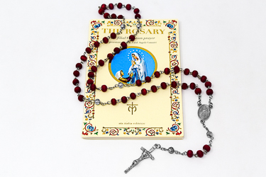 Rose Scented Rosary.