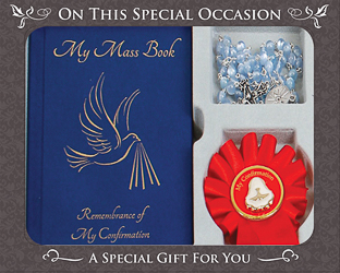 Souvenir of Confirmation Gift Set.